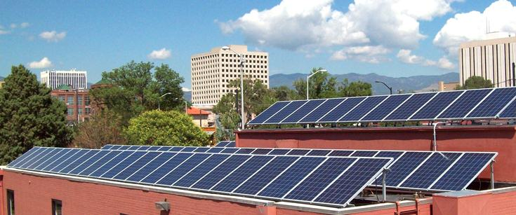 Colorado Springs Commercial Solar Installation